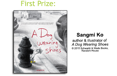2016 Winner A Dog Wearing Shoes